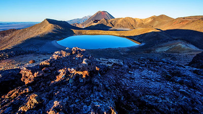 Tongariro Sunrise Time Lapse