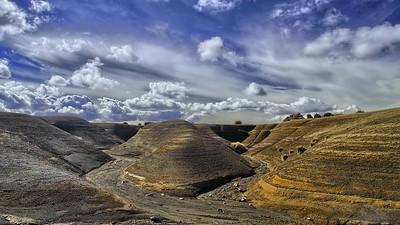 Desert Landscape Time Lapse