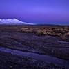 Volcano Sunrise Time Lapse