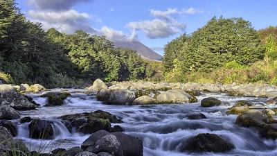Mountain Stream Time Lapse