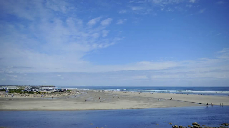 Tide Coming In- Ogunquit Maine