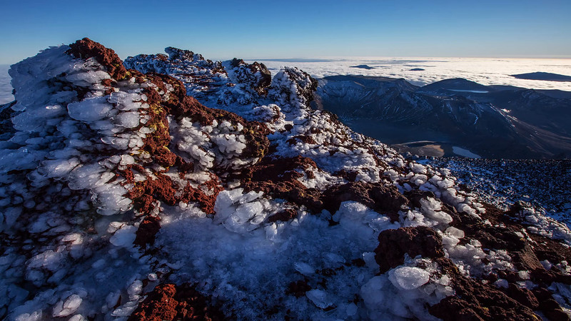 Ngauruhoe Crater Rim Time Lapse