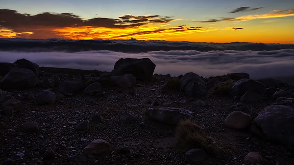 Mountain Sunrise Time Lapse