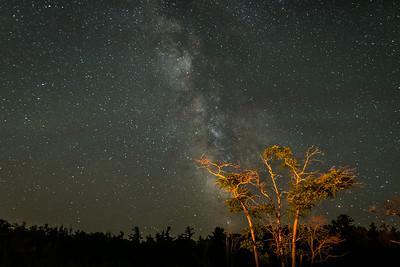 Astrophotography at Sleeping Bear Dunes National Lakeshore, Glen Arbor, MIchigan, 7.26.14.