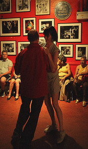 Swing dance night at the legendary 100 Club, Oxford Street, London