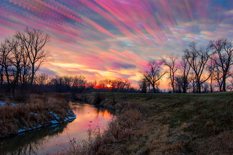 Painted Sky From Sunset til Dusk