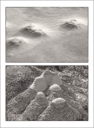 Stoney Point, Minnesota • Bisti Wilderness, New Mexico