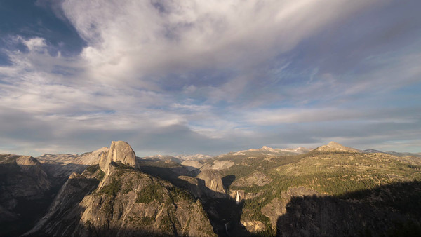 Half Dome from Glacier Point, Yosemite NP (2013)