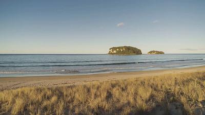Whangamata Beach - Sunset to Stars