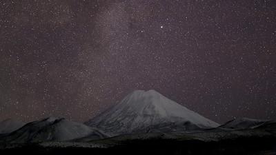 Mount Ngauruhoe Stars