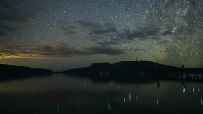 Lake Tarawera Milky Way Rise