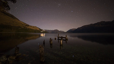 Abandoned Jetty on Lake Wakatipu