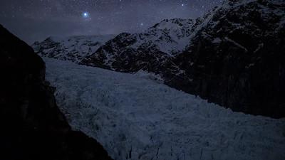 Fox Glacier Star Timelapse