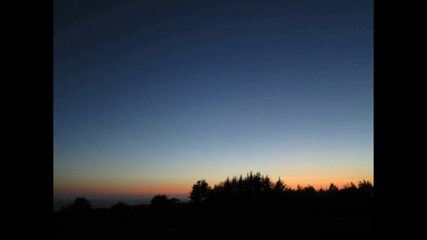 2013 - night sets over sea ranch