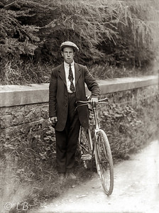 Man in Flatcap & Bicycle