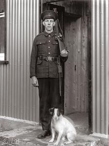 Policeman at Caddy