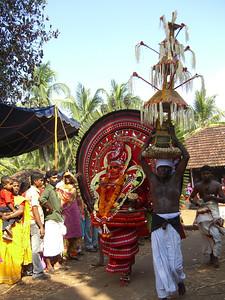 Theyyam Festival, Kasargod
