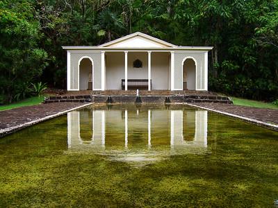 Fountain Gazebo Allerton Gardens, Kauai