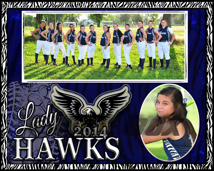 Brooklyn Lambert memory Mate Lady Hawks 2014