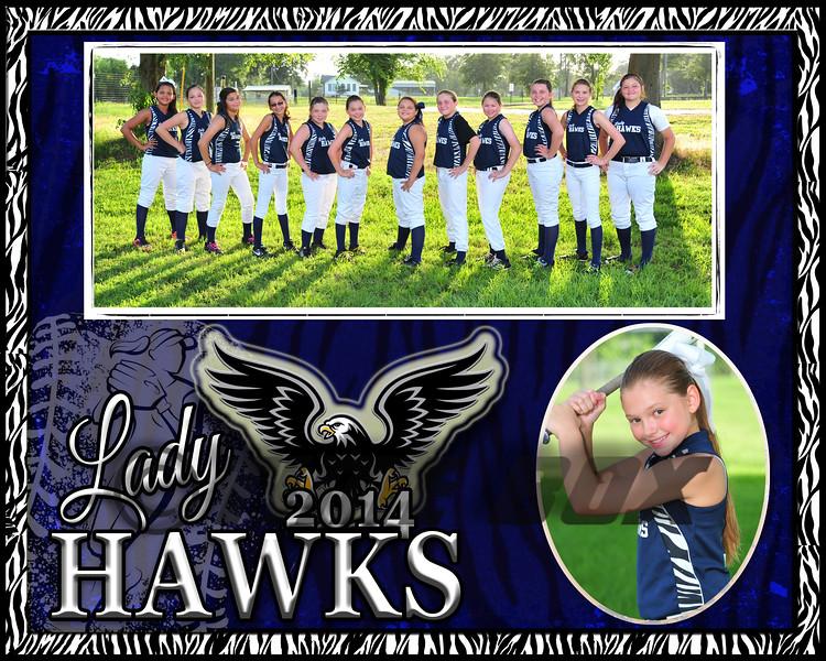 cierra vines memory Mate Lady Hawks 2014