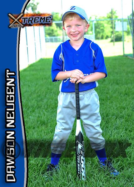 Dawson Neugent card front 2014