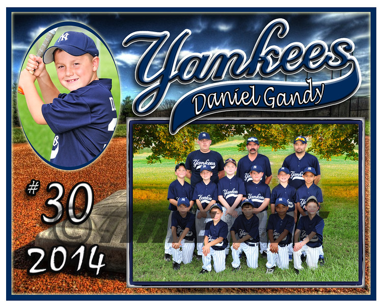 Daniel Gandy Yankees memory mate 2014