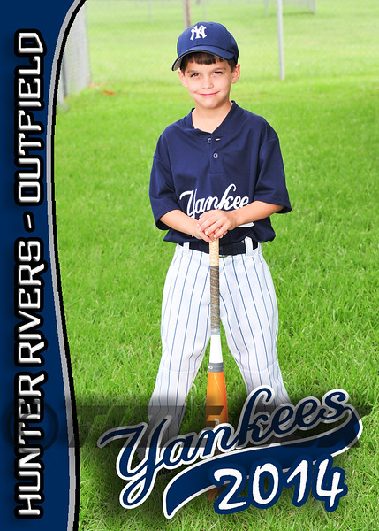 Hunter Rivers card front 2014