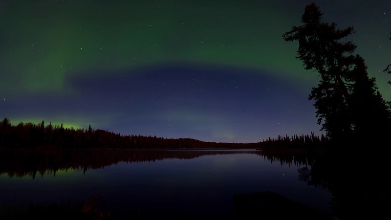 Time Lapse of the Aurora Borealis (Northern Lights) over South Rolly Lake at Nancy Lake State Recreation Area, Alaska.<br /> <br /> October 08, 2011<br /> <br /> Best viewed in Hi-Def