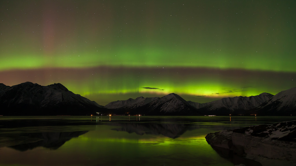 "Time Lapse of the Aurora Borealis (Northern Lights) over Turnagain Arm and the Chugach Mountains in Southcentral, Alaska  March 17, 2013  Song ""Phonautogramme"" by <a href=""http://torley.com/4/""target=""_blank""><b>""Torley""</b></a>  Best viewed in Hi-Def"