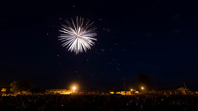 Time Lapse of the Fourth of July Fireworks in Earlville, Iowa<br /> <br /> July 04, 2012