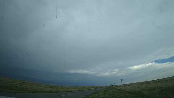 May 30th Dash Cam Time lapse. Sunset, Cloud Structure and Dust Storm