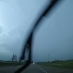August 11th Storm Chase Time Lapse. Wall Clouds And Torrential Rain Near Kitchener, Ontario.