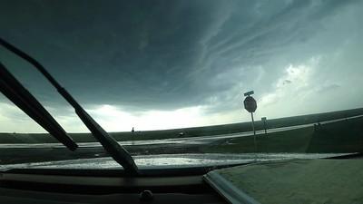 Developing Mesocyclone, Tornado and Wall Cloud. May 29th, 2018. Buffalo, Oklahoma.