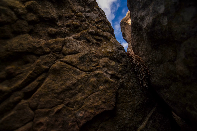 DTL - Escaping rocky crevice
