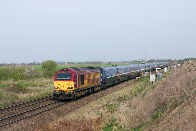 67027 at Hambleton West Jn.