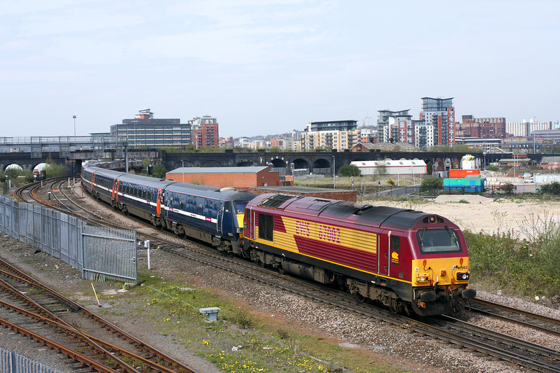 67002 at Engine Shed Jn.