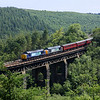 37259 & 37218 on East Largin Viaduct