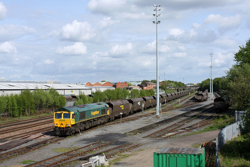 66615 at Hunslet Yard