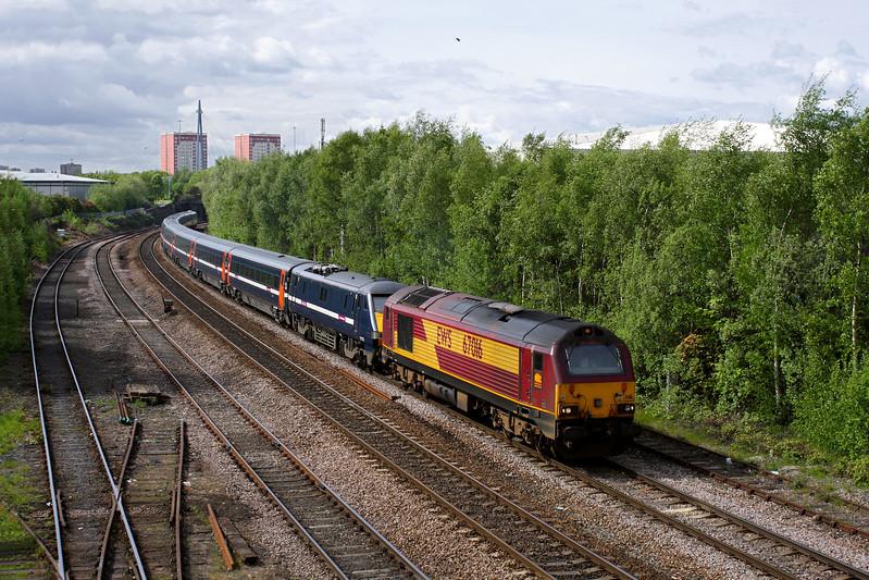 67016 & 91126 at Hunslet