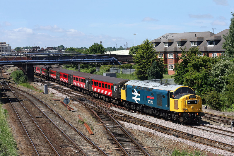 40145 at Chester East Jn.