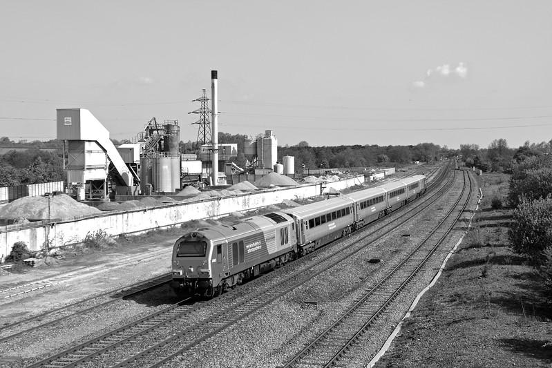 67013 at Banbury