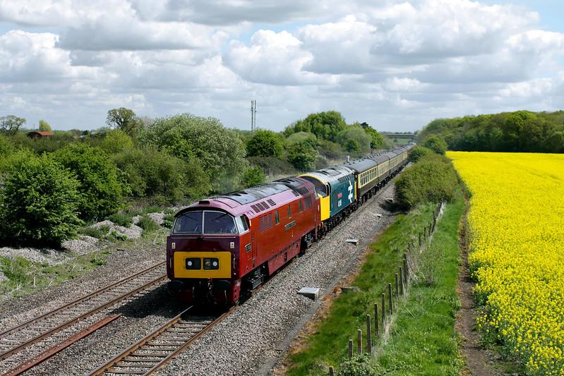 D1015 & 40145 at Shrivenham