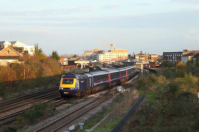 Reading - Taunton via Westbury