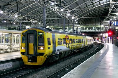 Leeds Area (Neville Hill - Methley via Leeds station)