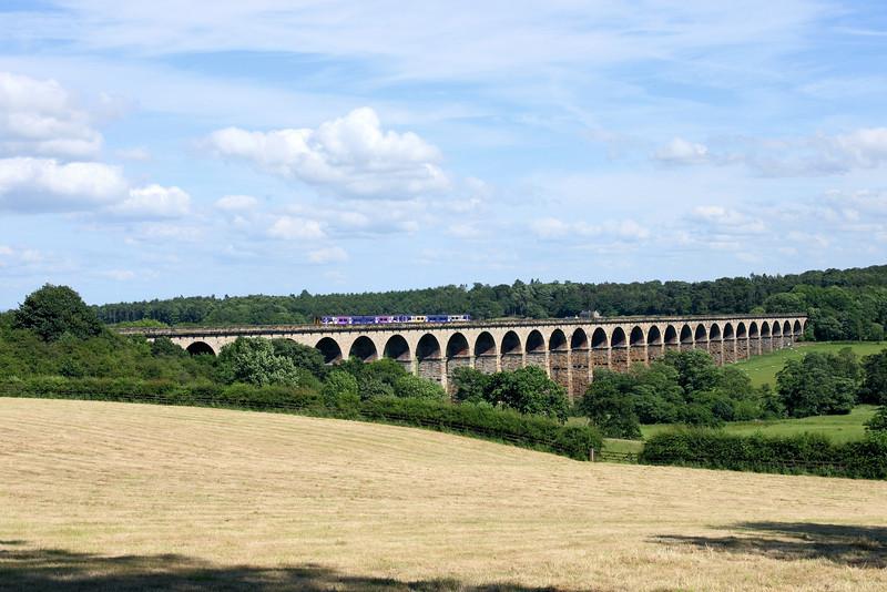 150206 & 150273 on Crimple Viaduct