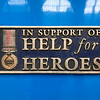 Nameplate - 43076 'IN SUPPORT OF HELP for HEROES'