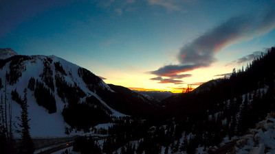 A-Basin Sunset