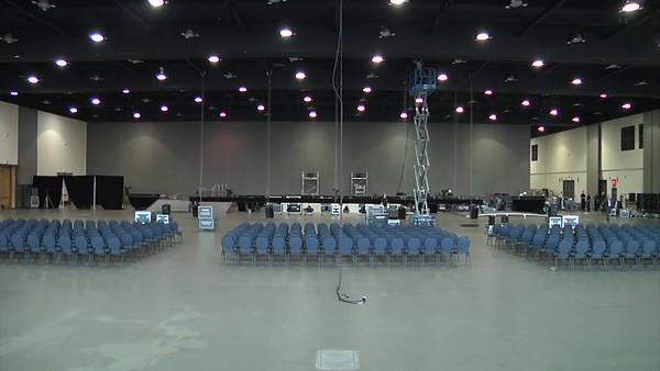 TransCanada Town Hall AV Setup and Dismantle