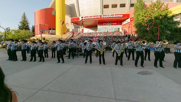Band of Outriders Evening Steps with Stampede Showband