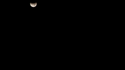 Lunar eclipse time-lapse 2011 12 10 California